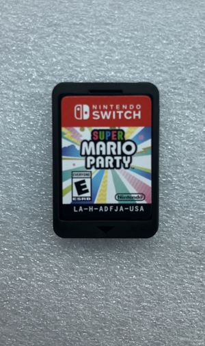 Super Mario Party (Disk Only) Nintendo switch for Sale in Bridgewater Township, NJ