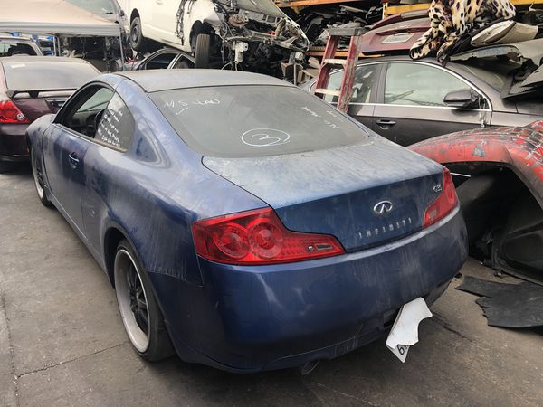 2007 Infiniti g35 coupe parting out