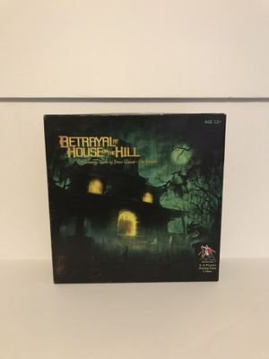 Betrayal At House On The Hill Board Game for Sale in St. Petersburg, FL