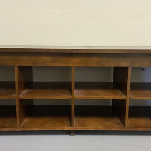 Wooden Bench With Shoe Storage for Sale in Bellevue, WA
