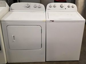 2018 Whirlpool Top Load Washer and Dryer Set - $499 for Sale in Atlanta, GA