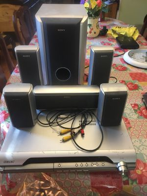 Sony DVD player with full speaker system for Sale in Burlington, NC