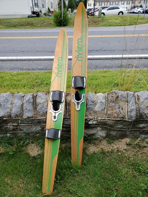 Wood water ski for Sale in Bunker Hill, WV