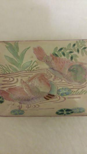porcelain duck jewelry box for Sale in Arlington, WA