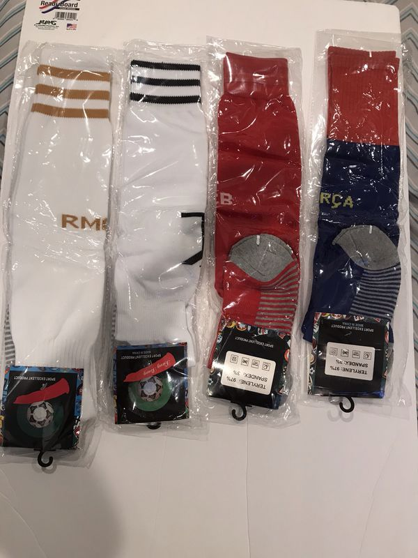 Soccer socks 2 different team