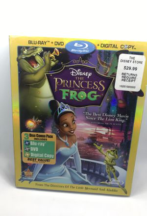 Disney's The Princess & The Frog Blu-ray DVD for Sale in Corona, CA