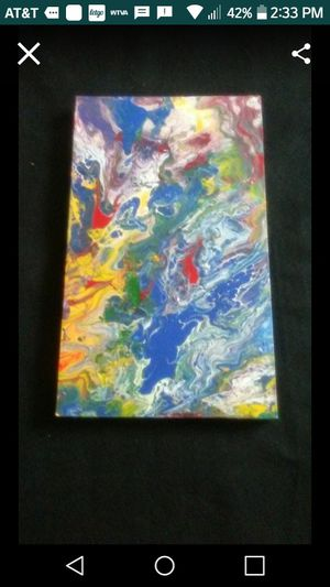 Acrylic Pour for Sale in Belden, MS