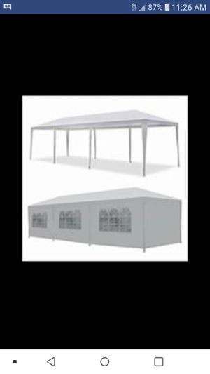 New 10 ft x 30 ft Canopy Tent with Sides for Sale in Pasadena, TX