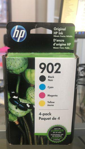 HP printer ink - 902 4 pack for Sale in Swartz Creek, MI