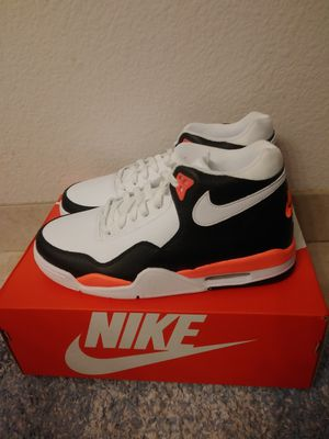 Nike Flight Legacy white black size 9 men for Sale in San Leandro, CA