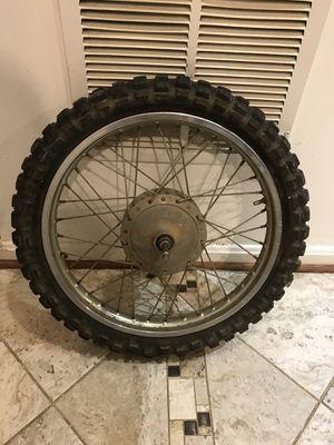 Dirt bike wheel for Sale in Boyds, MD