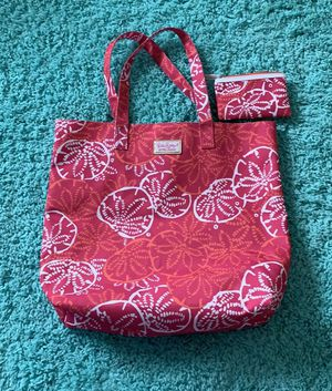 Lilly Pulitzer for Estée Lauder tote with pouch for Sale in Buford, GA