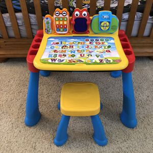 Vtech Touch And Learn Activity Desk Deluxe for Sale in San Diego, CA