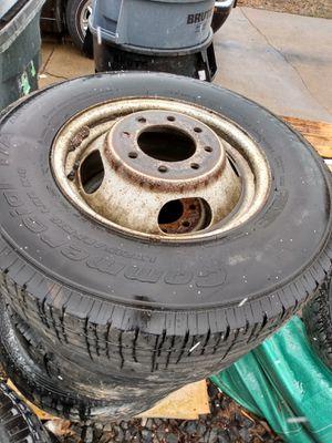 Chevy Silverado dually wheels. for Sale in Wheat Ridge, CO