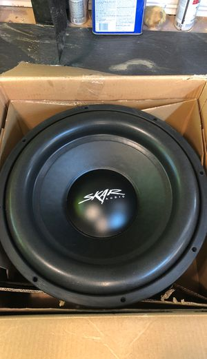 "***PENDING PICK-UP***Skar Audio SDR-15 D2 15"" 1200 Watt Max Power Dual 2 Ohm Car Subwoofer for Sale in Tacoma, WA"
