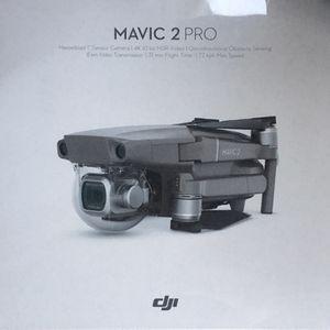"DJI Mavic 2 Pro Quadcopter 4K Drone with Remote Controller ""GRAY"" for Sale in Houston, TX"