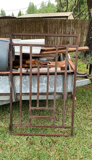 "3' x 4'6"" Gate 1""x1"" tube steel $50 firm for Sale in Plant City, FL"