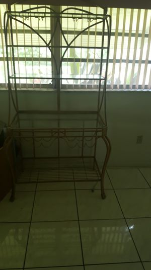 Bakers Rack 50.00 for Sale in West Palm Beach, FL