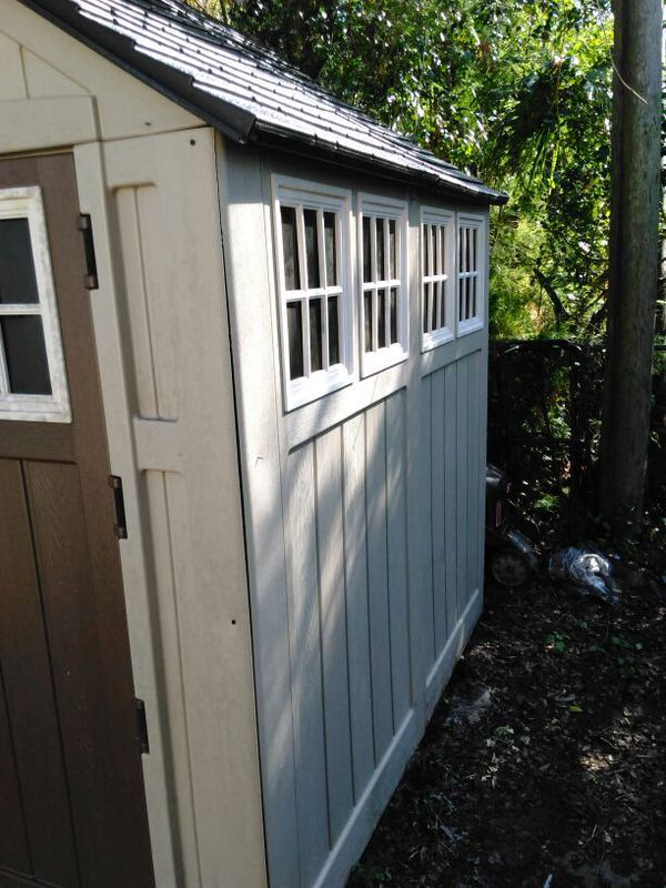 7x7 Shed Suncaste For Sale In Port St Lucie Fl Offerup