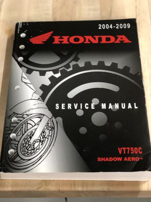 Honda Motorcycle Service Manual for Sale in Hudson, FL