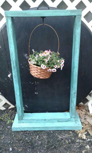 Hanging basket holder/plant stand for Sale in Narvon, PA