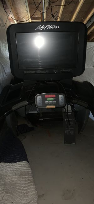Life fitness platinum series treadmill for Sale in Bolivar, WV