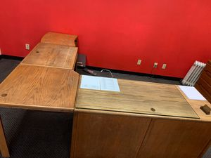 Wooden Desk for Sale in Rancho Cucamonga, CA
