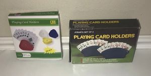 New Playing Card Game Holders All this $5 for Sale in Port St. Lucie, FL