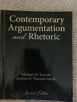Contemporary Argumentation and Rhetoric for Sale in San Luis Obispo, CA
