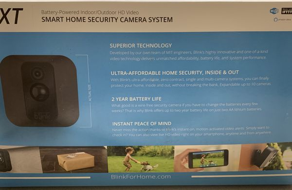 BlinkXT Home Security Camera System - NEW