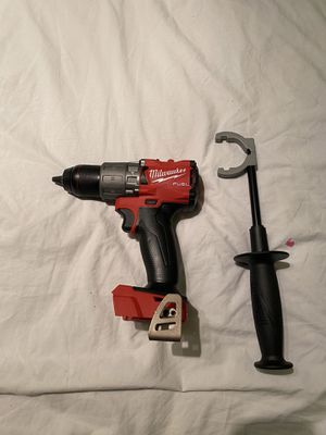 Milwaukee M18 FUEL 18-Volt Lithium-Ion Brushless Cordless 1/2 in. Hammer Drill / Driver (Tool-Only) for Sale in Hollywood, FL