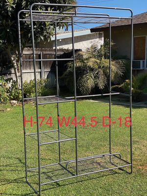 Metal closet organizer rack for Sale in Anaheim, CA