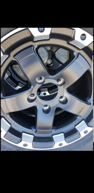 4 New Black Trailer Wheels/Rims/Tires 205/75/15 R15 inch tire for Sale in Moreno Valley, CA