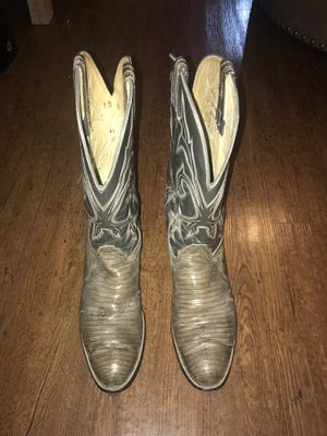 Men's size 12D reptile boots. for Sale in Houston, TX