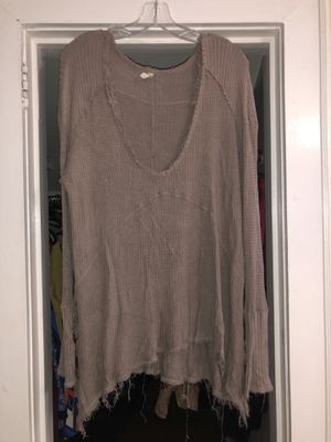 Free People Long Sleeve Shirt for Sale in Raleigh, NC