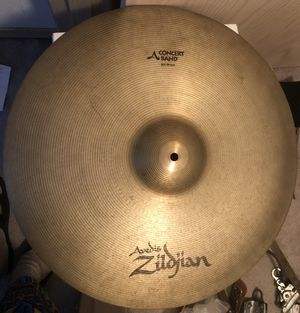 """Zildjian 20"""" 20 Inch ( 51 cm ) Concert Band Cymbal for Sale in Bothell, WA"""