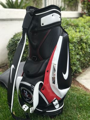 Rare - NIKE GOLF Limited Edition NG 360 Fitting Black/White/Red Staff Bag for Sale in Chula Vista, CA