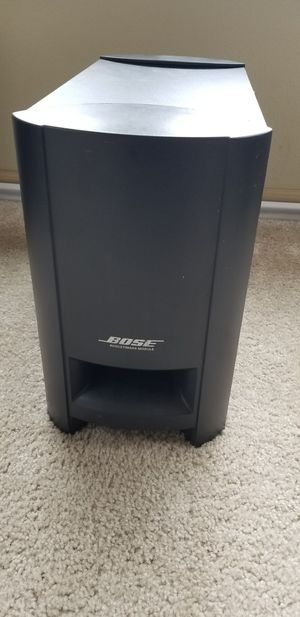 Bose CineMate Home Theater speaker System Sub Woofer Only for Sale in Renton, WA