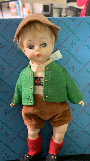 Madame Alexander Tyrolese boy doll for Sale in Temperance, MI