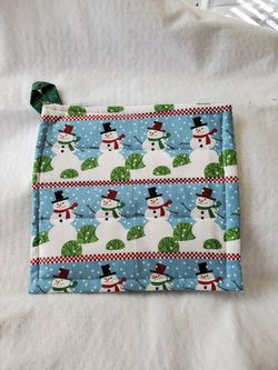 Snowman pot holder for Sale in Haslet,  TX