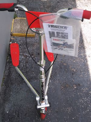 ⭐Brand New⭐Trikke Bike in the box with instructions & Dvd!⭐MAKE AN OFFER⭐ for Sale in Miami, FL