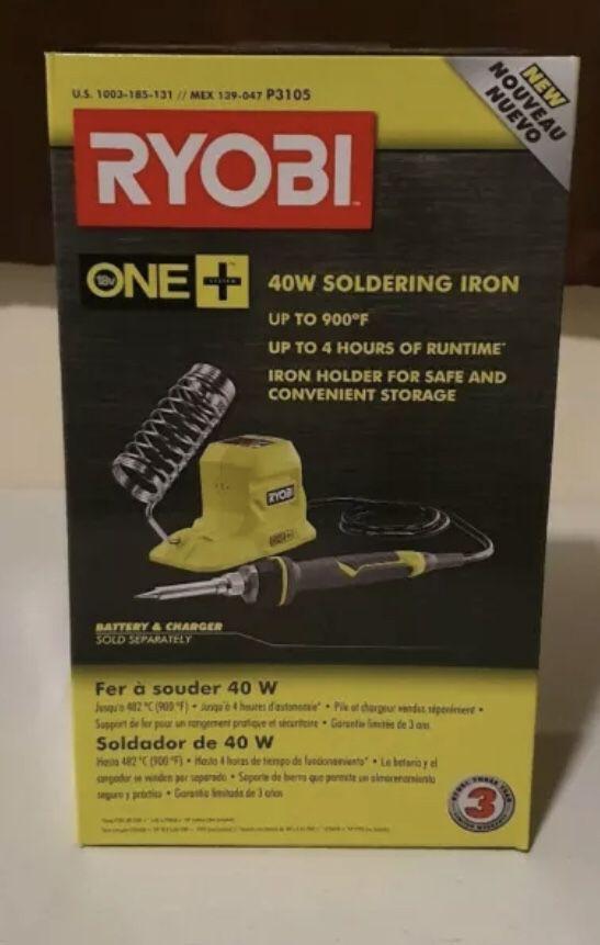 RYOBI 18V ONE+ 40-Watt Soldering Iron (Tool-Only)