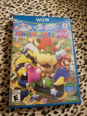 Mario Party 10 - Nintendo Wii U.. $25 for Sale in Phoenix, AZ
