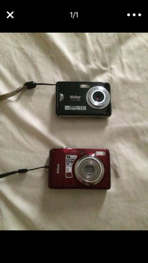 2 digital touch screen cameras for Sale in Columbus, OH