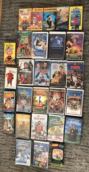 Vintage VHS Lot 28 VHS for Sale in Mountain View, CA