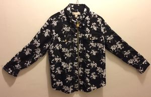 Michael Kors Brand New Printed Zip Front Blouse, Size L, Price $40, original price is $74 for Sale in Philadelphia, PA