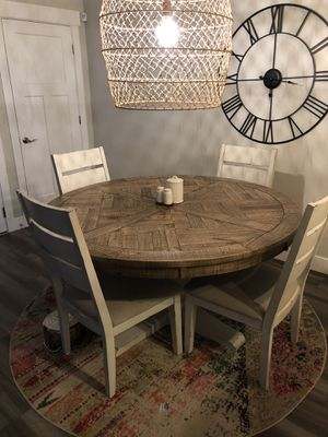 Ashley Furniture Dining Table and Chairs for Sale in Herriman, UT