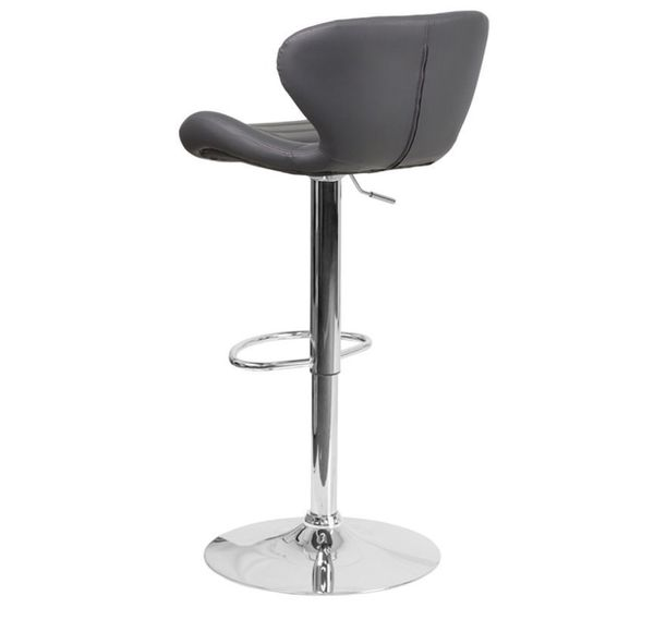Adjustable Flash Furniture Gray Stool