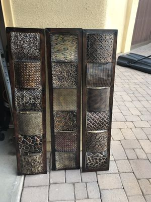 Metal wall decor for Sale in Payson, AZ