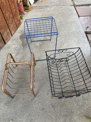 Metal Magazine and paper racks for Sale in La Palma, CA